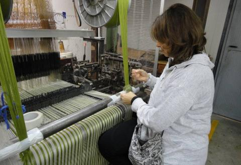 Weaving in Anghiari